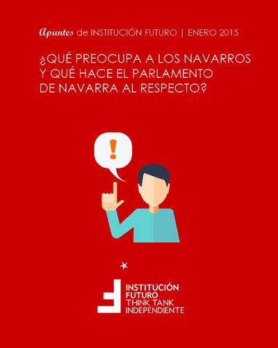 ¿Qué preocupa a los navarros y qué hace el Parlamento de Navarra al respecto?  Apuntes de Institución Futuro 003