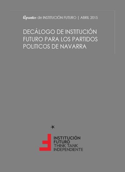 Decálogo de Institución Futuro para los partidos políticos de Navarra