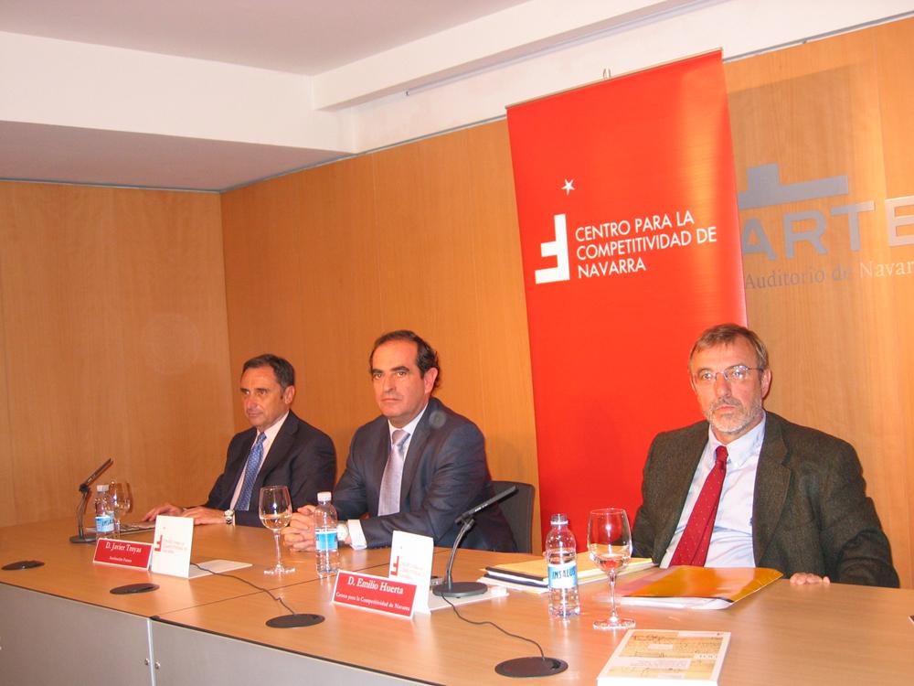 Institución Futuro presenta el Centro para la Competitividad de Navarra