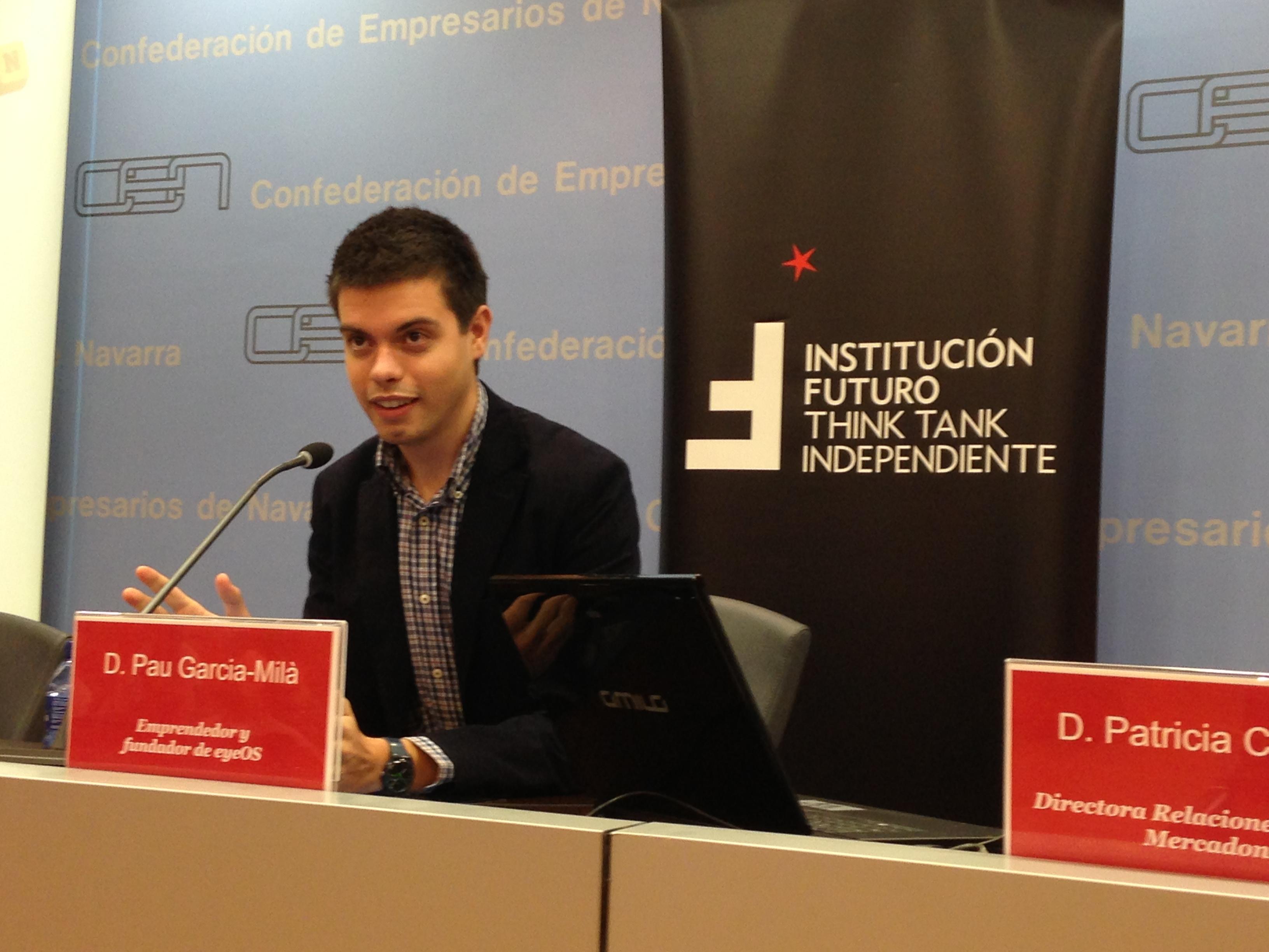 Coloquio sobre emprendimiento con Pau Garcia-Milà y con la experiencia de Mercadona