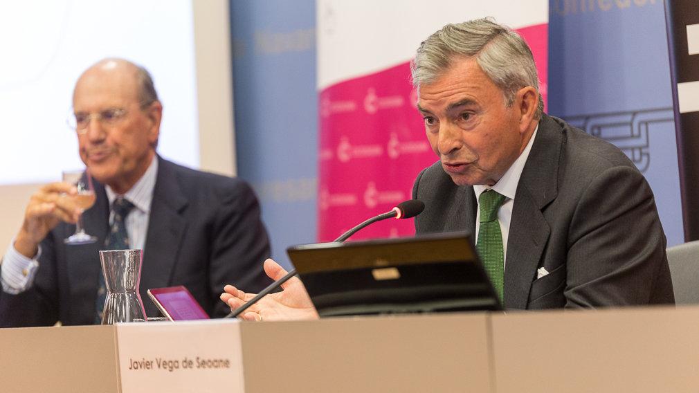 """Javier Vega de Seoane, presidente de DKV Seguros: """"Navarra ya no es una región tan envidiada en lo económico"""""""