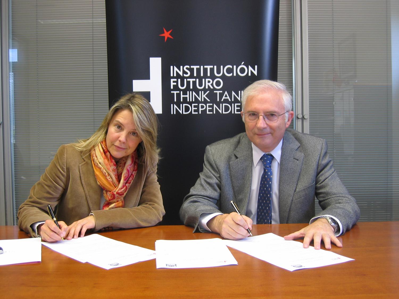 Institución Futuro firma un convenio de colaboración con Onda Cero Radio Navarra