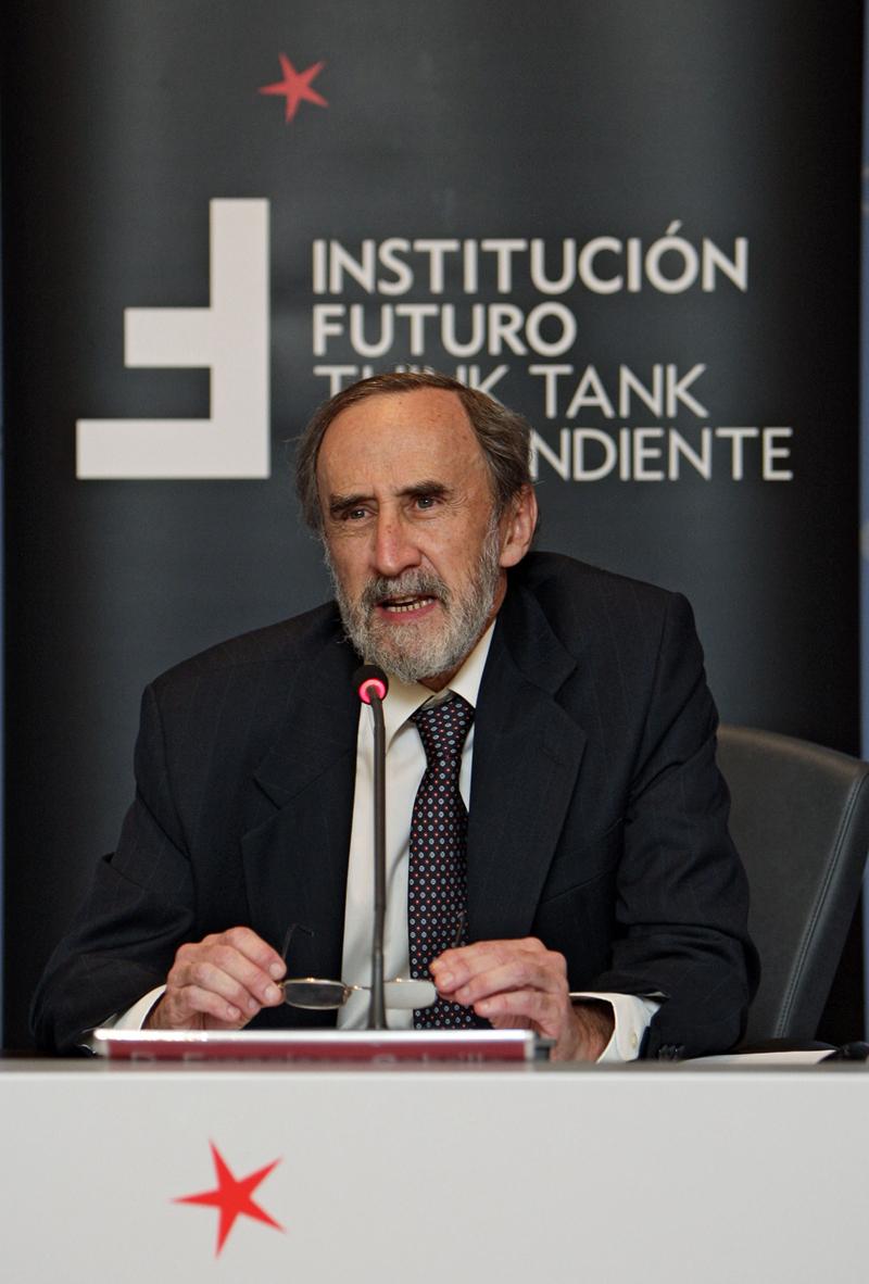 Conferencia con Francisco Cabrillo, Presidente del Consejo Económico y Social de la Comunidad de Madrid
