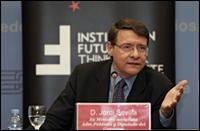 Conferencia con Jordi Sevilla, ex ministro socialista de Administraciones Públicas