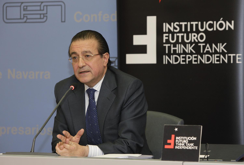 Conferencia con Fernando Eguidazu, vicepresidente del Círculo de Empresarios