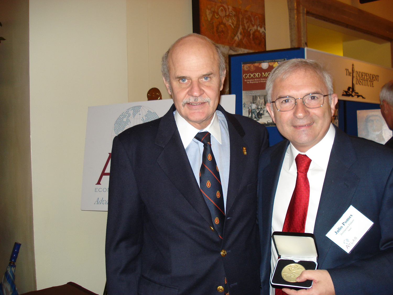 Institución Futuro recoge el Premio Templeton a la Libertad en Washington