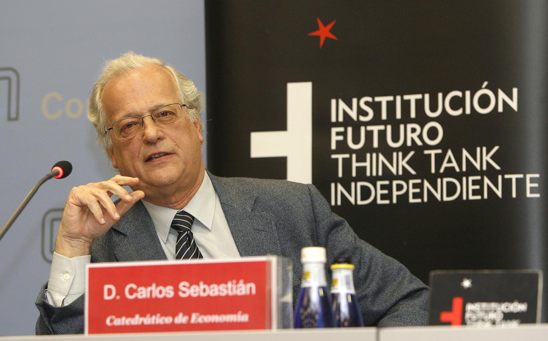 Conferencia con Carlos Sebastián, Catedrático de Economía y Consejero de Abengoa