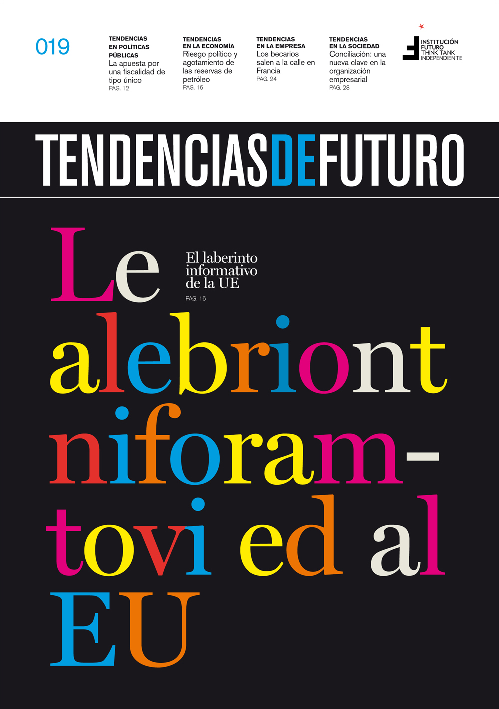 El think tank Institución Futuro, galardonado por su revista Tendencias de Futuro