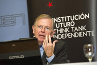 Conferencia con José Luis Malo de Molina, Director General del Servicio de Estudios del Banco de España