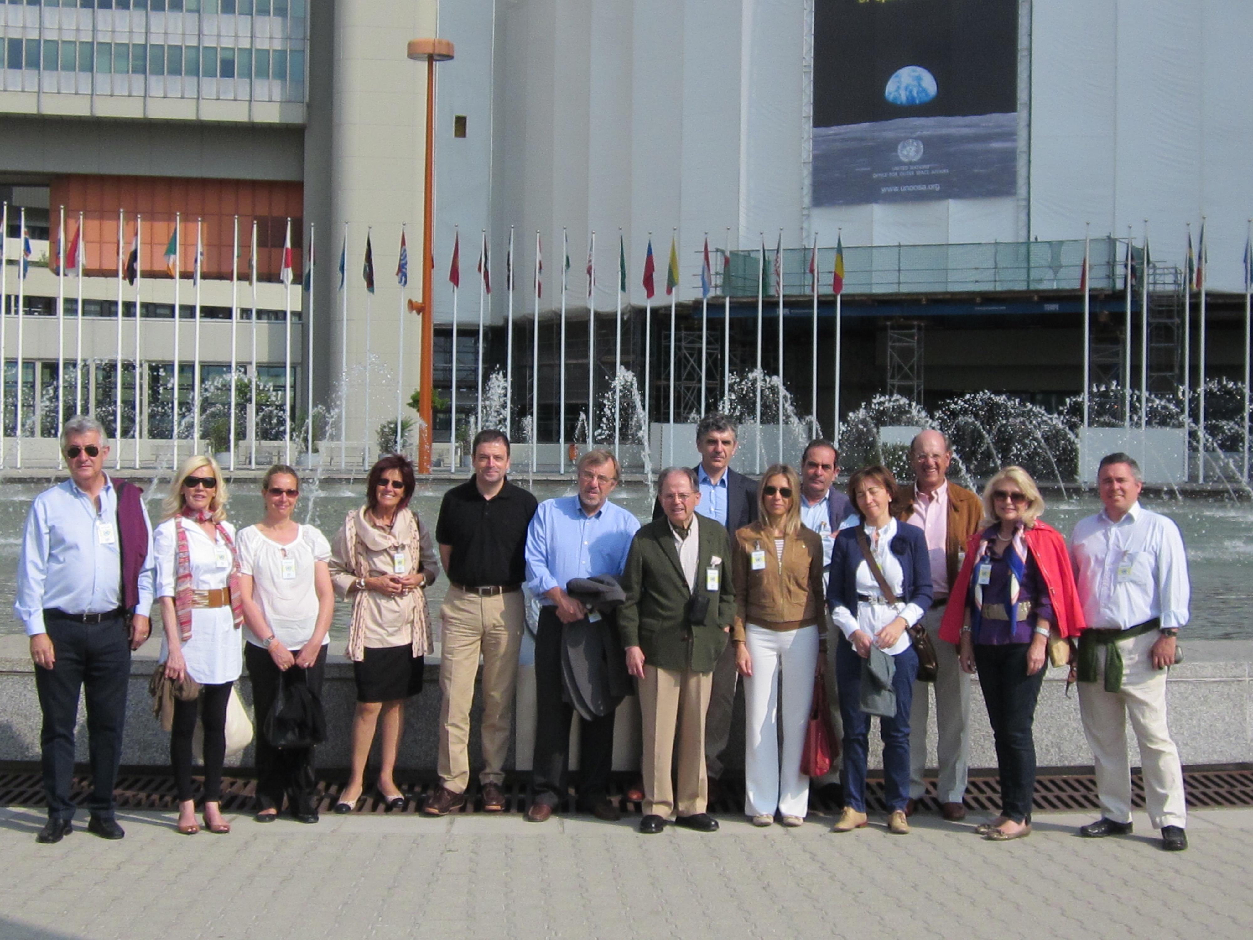 Varios socios de Institución Futuro viajan a Viena para establecer vínculos con entidades internacionales
