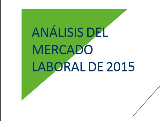 Análisis del mercado laboral en 2015