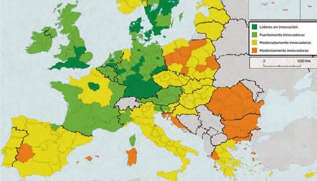 Un informe revela que Navarra está perdiendo capacidad innovadora