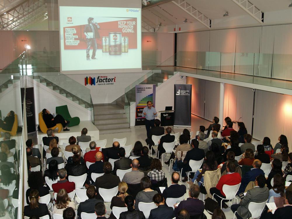 La cultura de la colaboración como estrategia emergente, temática del último Update celebrado en Pamplona