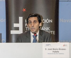 Conferencia con José María Álvarez-Pallete, Presidente Ejecutivo de Telefónica