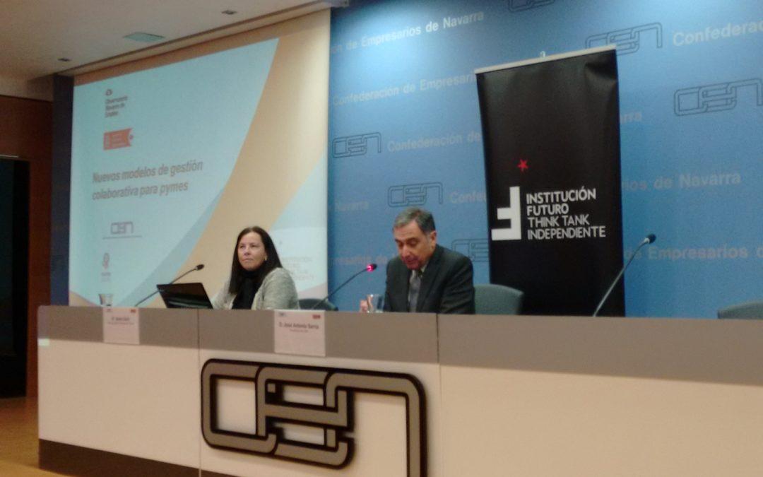"""Presentación del informe: """"Nuevos modelos de gestión colaborativa para Pymes"""""""