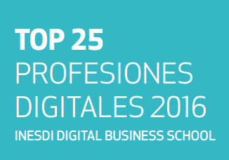 TOP 25 profesiones digitales 2016