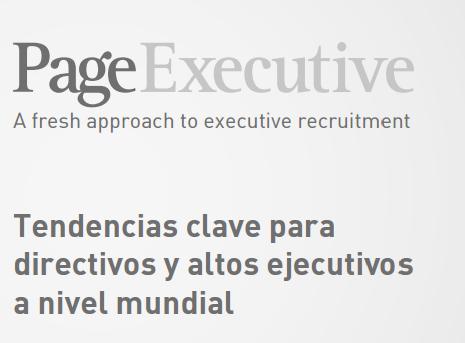 Tendencias clave para directivos y altos ejecutivos a nivel mundial
