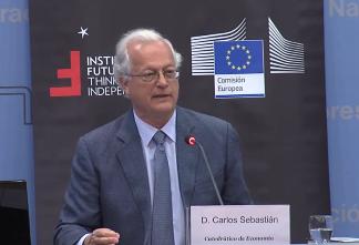 Conferencia con Carlos Sebastián, Catedrático de Economía