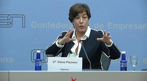 Conferencia con Elena Pisonero, Presidenta de Hispasat y ex Secretaria de Estado de Pymes