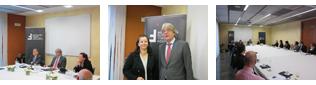 Desayuno de trabajo con el Embajador de Alemania en España, D. Renhard Silberberg