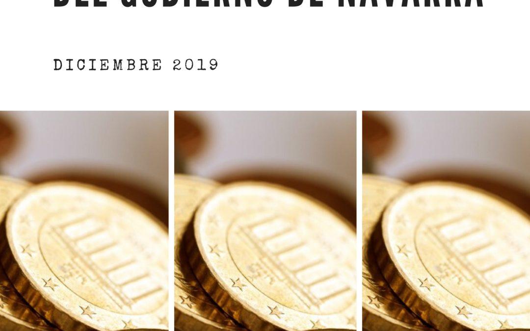 Análisis y valoración de los Proyectos de Ley de medidas fiscales del Gobierno de Navarra