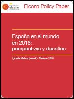 España en el mundo durante 2016: perspectivas y desafíos
