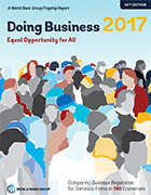 Doing Business 2017. Equal Opportunity for All