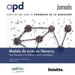 """Jornada """"Modelo de éxito en Navarra. Una llamada a la diferenciación estratégica"""""""