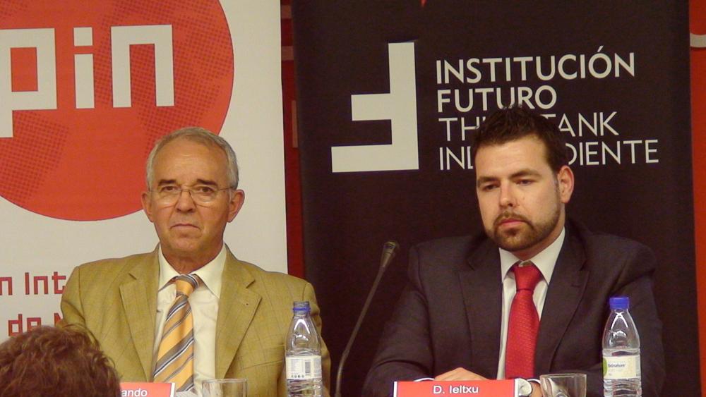 Quinto seminario de internacionalización con Fernando Sucunza e Ieltxu Carcar