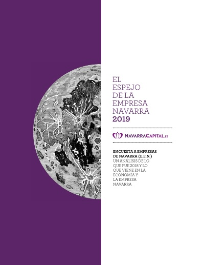 El Espejo de la empresa navarra 2019  Presentado el 21 de junio de 2019 Elaborado por NavarraCapital.es, con la colaboración de Institución Futuro