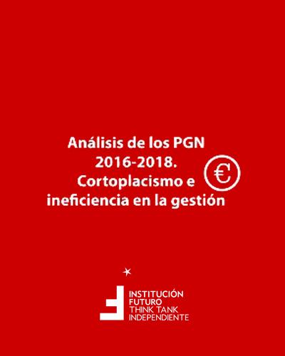 Análisis de los Presupuestos del Gobierno de Navarra en los años 2016-2018. Cortoplacismo e ineficiencia en la gestión  Análisis de los Presupuestos del Gobierno de Navarra. Ideas preliminares