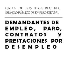 Demandantes de empleo, paro, contratos y prestaciones por desempleo. Febrero 2019