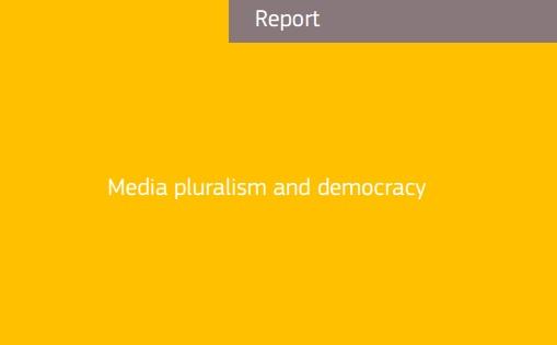 Media pluralism and democracy. Special Eurobarometer
