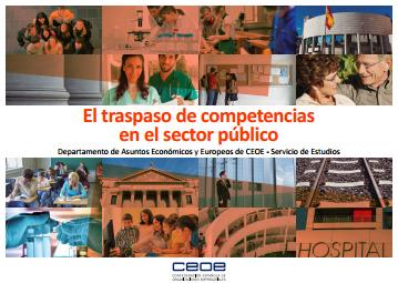 El traspaso de competencias en el sector público