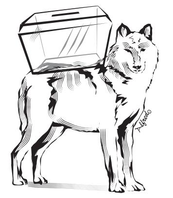 ¡Que viene el lobo!