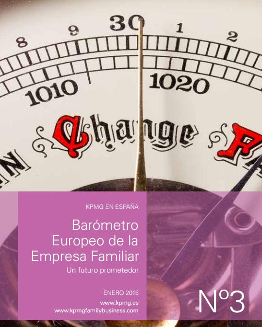 III Barómetro Europeo de la Empresa Familiar