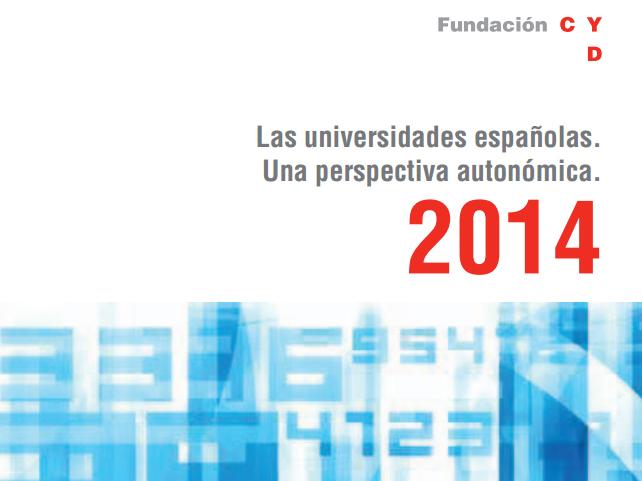 Las universidades españolas. Una perspectiva autonómica. 2014