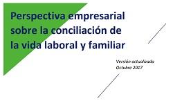 Perspectiva empresarial sobre la conciliación de la vida laboral y familiar