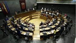 Solo un 20 % de parlamentarios forales acudieron a más de 200 sesiones en 2017