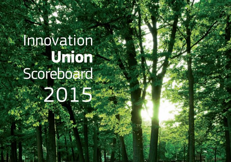 Innovation Union Scoreboard 2015