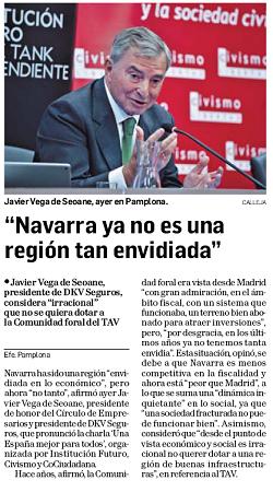 """""""Navarra ya no es una región tan envidiada"""""""