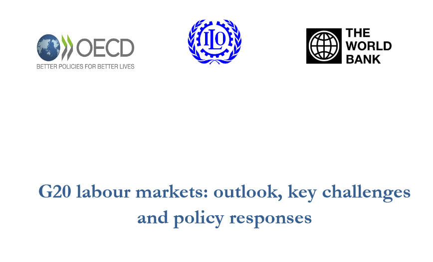G20 labour markets:Outlook, key challenges and policy responses