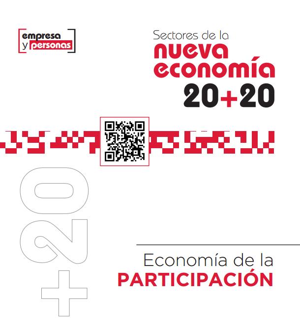 Sectores de la nueva economía 20+20. Economía de la participación