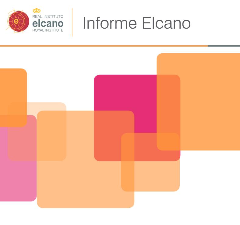 V Índice Elcano de oportunidades y riesgos estratégicos para la economía española