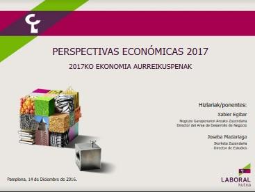 Perspectivas Económicas de Navarra 2017