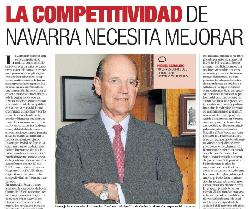 La competitividad de Navarra necesita mejorar