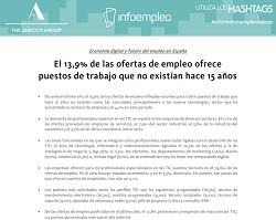 Economía digital y futuro del empleo en España
