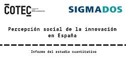 Percepción social de la innovación en España