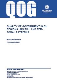 European Quality of Government Index (EQI)  University of Gothenburg