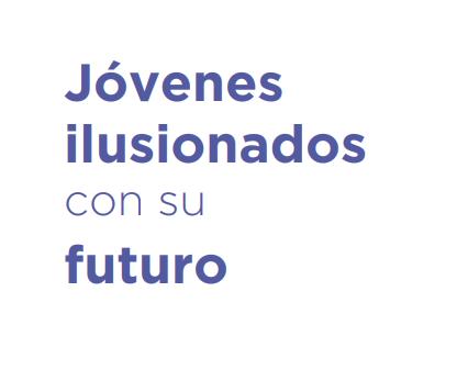 Jóvenes ilusionados con su futuro